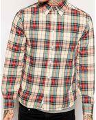 Diesel Watis Shirt Check Button Down - Lyst