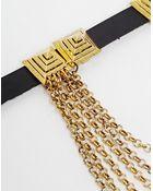 Designsix Multi Chain Drape Arm Cuff - Lyst