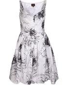 Vivienne Westwood Anglomania Sleeveless Printed Dress - Lyst