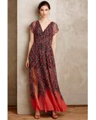 Twelfth Street Cynthia Vincent Samira Silk Maxi Dress - Lyst