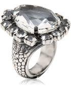 Emanuele Bicocchi Swarovski Crystal Ring - Lyst
