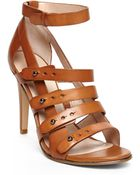 French Connection Tan Nolinda Sandals - Lyst