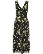 Marni Japanese Flowerprint Dress - Lyst