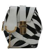 Angel Jackson Zebra Atomic Box Bag - Lyst