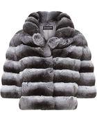 Harrods of London Chinchilla Box Jacket - Lyst