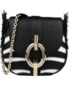 Diane von Furstenberg Sutra Leather Shoulder Bag - Lyst