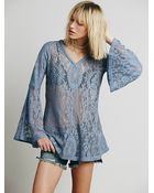 Free People Womens Fp X Tartlet Tunic - Lyst