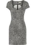 Issa Printed Stretch Cotton-Blend Dress - Lyst