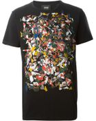 Marc Jacobs Psychedelic-Print T-Shirt - Lyst