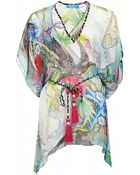 Matthew Williamson Atlas Silk Mousseline Kaftan - Lyst
