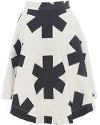 Vivienne Westwood Anglomania Hydra Printed Skirt - Lyst