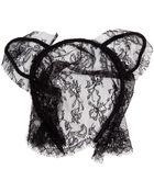 Maison Michel Lace Cat Ear Headband - Lyst