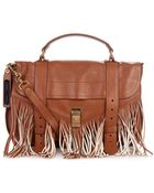 Proenza Schouler Ps1 Medium Fringed Leather Tote - Lyst