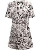 McQ by Alexander McQueen T-Shirt Dress - Lyst