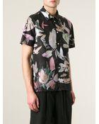 Paul Smith Foliage Print Shirt - Lyst
