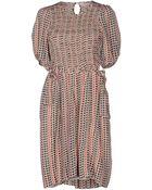 Etoile Isabel Marant Kneelength Dress - Lyst