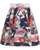 Mary Katrantzou Algernon Print Skirt - Lyst