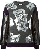 Kenzo 'Monster Foil' Sweatshirt - Lyst