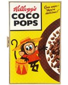 Anya Hindmarch Imperial Coco Pops Clutch - Lyst