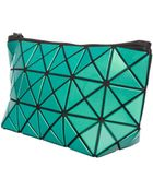 Bao Bao Issey Miyake Lucent-1 Prism Pouch Metallic Green - Lyst