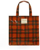 Harrods Small Royal Stewart Tartan Shopper Bag - Lyst