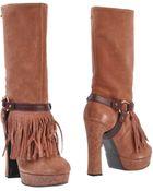 Just Cavalli Boots - Lyst