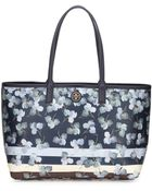 Tory Burch Kerrington Floral-Print Shopper Tote Bag - Lyst