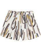 MSGM Printed Cotton Shorts - Lyst