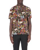 Valentino Butterfly-Print Cotton-Jersey T-Shirt - For Men - Lyst