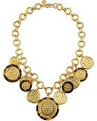 Tory Burch Shiloh Statement Necklace - Lyst