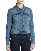French Connection Afterglow Denim Jacket - Lyst