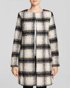 Glamorous Coat - Checked - Lyst