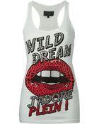 Philipp Plein 'Wild Dream' Tank Top - Lyst