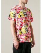 Jil Sander Abstract Print Sweater - Lyst