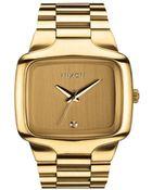 Nixon Big Player All Gold Watch - Lyst