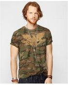Denim & Supply Ralph Lauren Eagle Banner Tee - Lyst