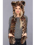 Spirit Hoods Leopard - Lyst