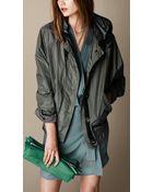 Burberry Oversize Parka Jacket - Lyst