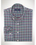 Polo Ralph Lauren Plaid Twill Sport Shirt - Lyst