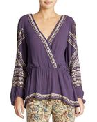 Free People Stitched Up Heart Top - Lyst