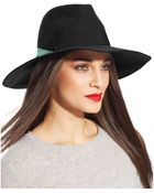 Nine West Felt Large Brim Fedora - Lyst