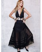 Free People Womens Gianna'S Limited Edition Gown - Lyst