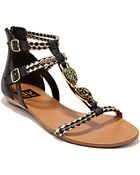 Dv By Dolce Vita Desta Leather And Synthetic Sandals - Lyst