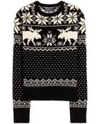 Polo Ralph Lauren Anouk Wool Knit Sweater - Lyst