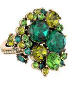 Oscar de la Renta Crystal Ring - Lyst