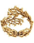 Oscar de la Renta Coral-Branch Bracelet - Lyst