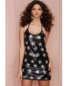 Nasty Gal Star Struck Sequin Dress - Lyst