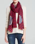 Marc By Marc Jacobs Graphic Charles Scarf - Lyst