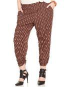 American Rag Plus Size Printed Cropped Pants - Lyst