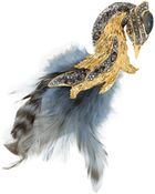 Alexis Bittar Feather And Stone Starling Pin - Lyst